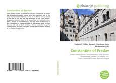 Bookcover of Constantine of Preslav