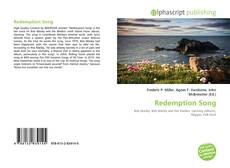 Redemption Song kitap kapağı