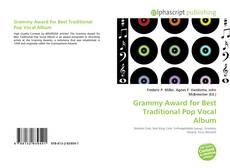 Bookcover of Grammy Award for Best Traditional Pop Vocal Album