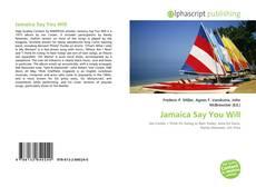 Copertina di Jamaica Say You Will