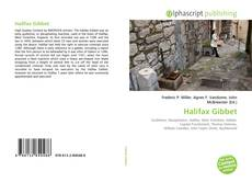 Bookcover of Halifax Gibbet