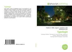 Buchcover von Typologie