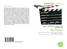 Bookcover of Ben Gazzara