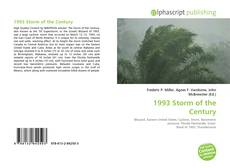 Bookcover of 1993 Storm of the Century