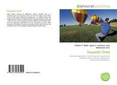 Copertina di Hayashi limit