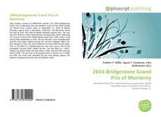 Обложка 2004 Bridgestone Grand Prix of Monterey