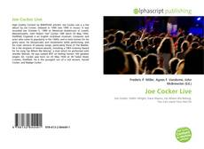 Copertina di Joe Cocker Live
