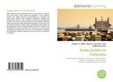 Capa do livro de Trade Unions in Colombia