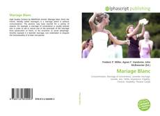 Bookcover of Mariage Blanc