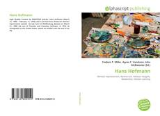 Bookcover of Hans Hofmann