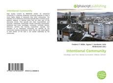 Bookcover of Intentional Community