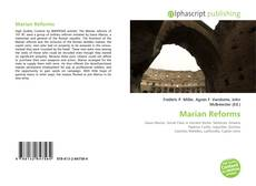 Bookcover of Marian Reforms