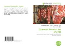 Copertina di Economic Stimulus Act of 2008