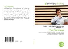 Bookcover of The Technique