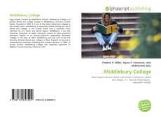 Обложка Middlebury College