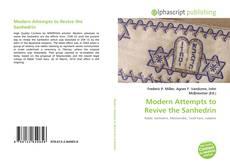Copertina di Modern Attempts to Revive the Sanhedrin