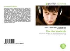 Обложка Five Live Yardbirds