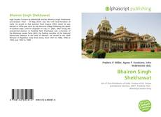 Bookcover of Bhairon Singh Shekhawat