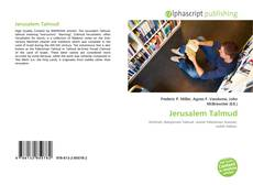 Bookcover of Jerusalem Talmud