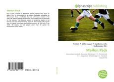 Capa do livro de Marlon Pack