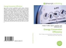 Bookcover of Energy Conversion Efficiency