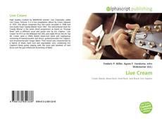 Bookcover of Live Cream