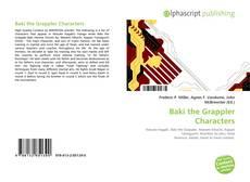 Обложка Baki the Grappler Characters