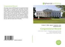 Обложка Congressional Record