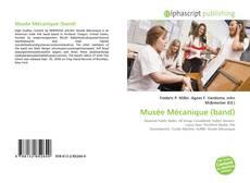 Musée Mécanique (band) kitap kapağı