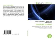 Couverture de Adam and the Ants