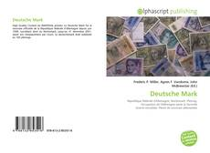 Capa do livro de Deutsche Mark