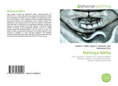 Copertina di Maitreya-Nātha