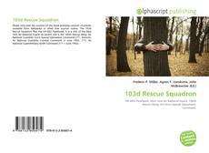 Bookcover of 103d Rescue Squadron
