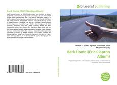 Bookcover of Back Home (Eric Clapton Album)