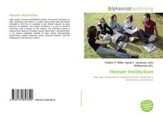 Bookcover of Hoover Institution