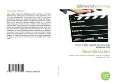 Capa do livro de Govinda (Actor)