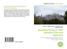 Boundary Treaty of 1881 Between Chile and Argentina kitap kapağı