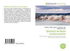 Обложка Bâtiment de Basse Consommation