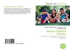 Bookcover of Analytic Fredholm Theorem