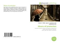 Bookcover of Means of protection