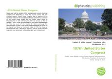 107th United States Congress kitap kapağı