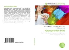 Bookcover of Appropriation (Art)