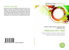 Capa do livro de Pokémon (361–386)