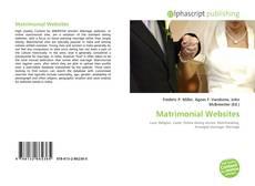 Bookcover of Matrimonial Websites