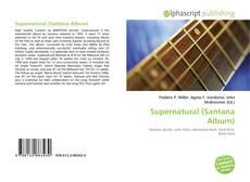 Обложка Supernatural (Santana Album)