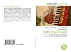 History of Cajun Music的封面