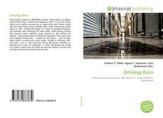 Couverture de Driving Rain