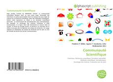 Capa do livro de Communauté Scientifique