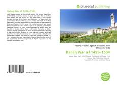 Capa do livro de Italian War of 1499–1504