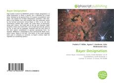 Bookcover of Bayer Designation